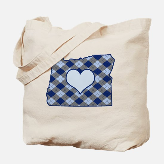 Unique I love oregon Tote Bag