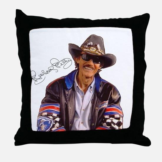 All Pro Sports Richard Petty Throw Pillow