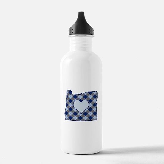 Unique I heart oregon Water Bottle