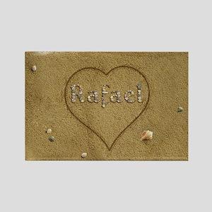 Rafael Beach Love Rectangle Magnet