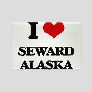 I love Seward Alaska Magnets