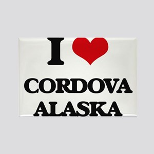 I love Cordova Alaska Magnets