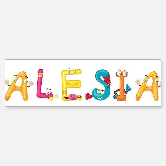 Alesia Bumper Bumper Bumper Sticker