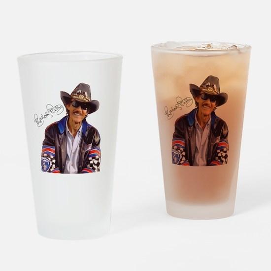 All Pro Sports Richard Petty Drinking Glass