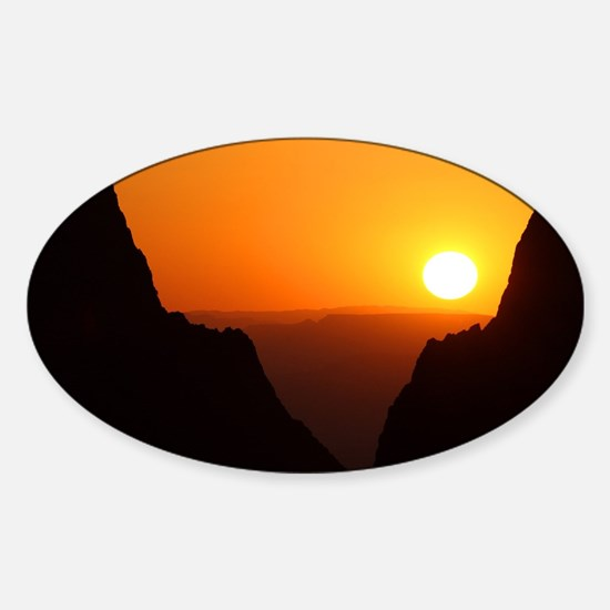 Sunset at the Window Decal