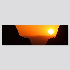 Sunset at the Window Bumper Sticker