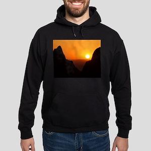 Sunset at the Window Hoodie (dark)