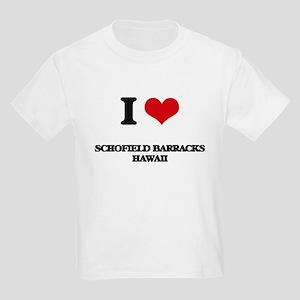 I love Schofield Barracks Hawaii T-Shirt
