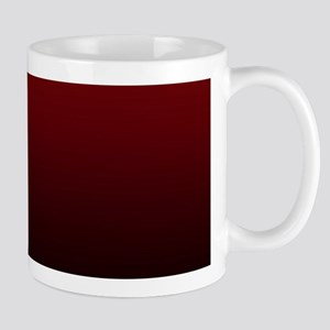 vampire red ombre Mugs