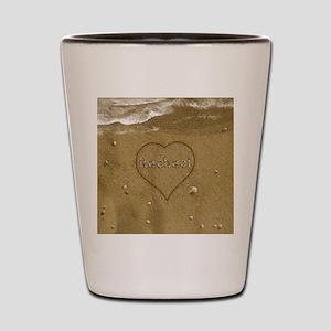 Rachael Beach Love Shot Glass