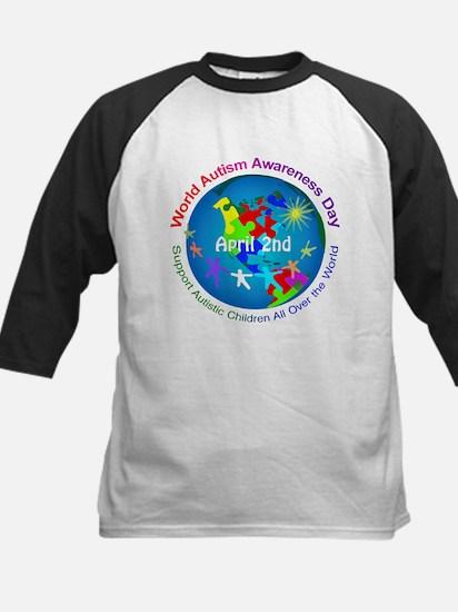World Autism Awareness Day Kids Baseball Jersey