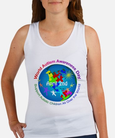 World Autism Awareness Day Women's Tank Top