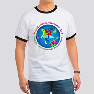 World Autism Awareness Day Ringer T