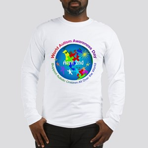 World Autism Awareness Day Long Sleeve T-Shirt