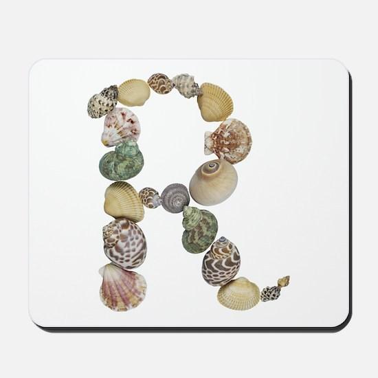 R Seashells Mousepad