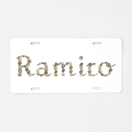 Ramiro Seashells Aluminum License Plate