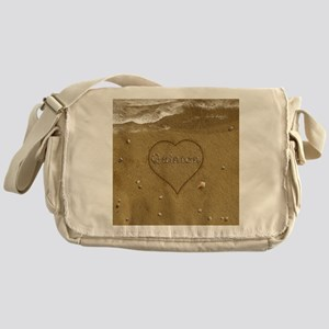 Quinton Beach Love Messenger Bag