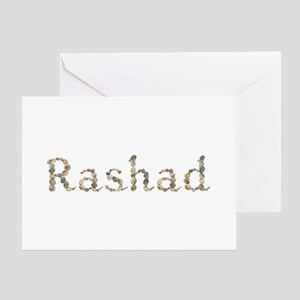Rashad Seashells Greeting Card