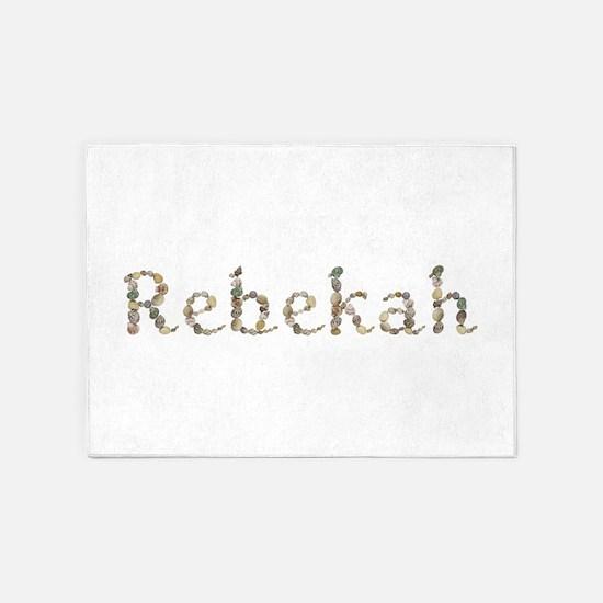 Rebekah Seashells 5'x7' Area Rug