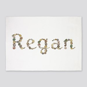 Regan Seashells 5'x7' Area Rug
