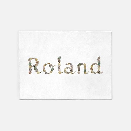 Roland Seashells 5'x7' Area Rug