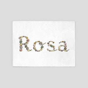 Rosa Seashells 5'x7' Area Rug