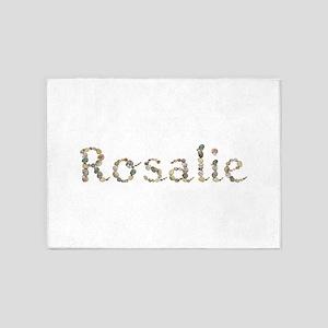 Rosalie Seashells 5'x7' Area Rug