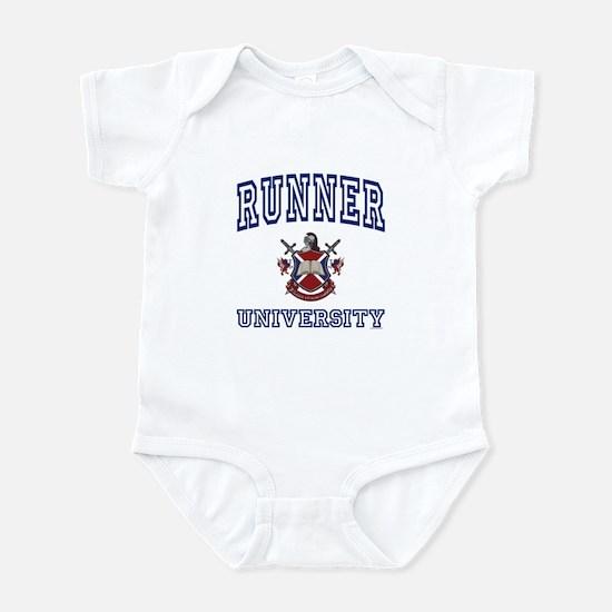 RUNNER University Infant Bodysuit