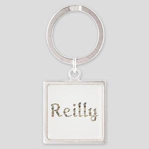 Reilly Seashells Square Keychain