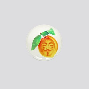V Peach Mini Button