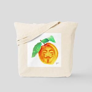 V Peach Tote Bag