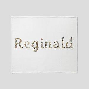 Reginald Seashells Throw Blanket