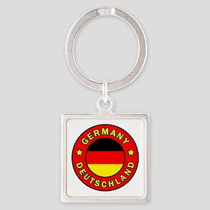 Germany Square Keychain