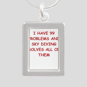 sky diving Necklaces