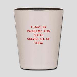 slots Shot Glass