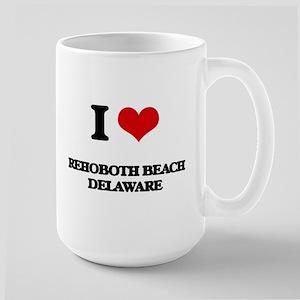 I love Rehoboth Beach Delaware Mugs