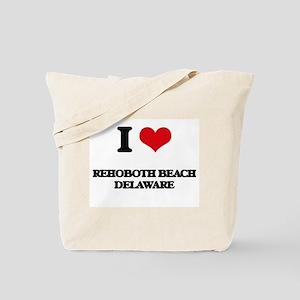 I love Rehoboth Beach Delaware Tote Bag