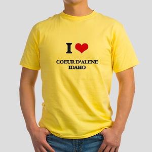I love Coeur D'Alene Idaho T-Shirt
