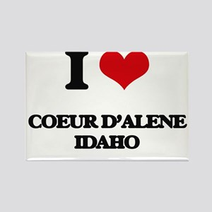 I love Coeur D'Alene Idaho Magnets