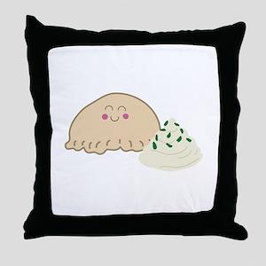 Polish Pierogi Throw Pillow