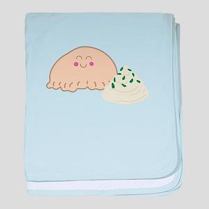 Polish Pierogi baby blanket