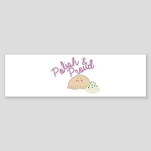 Proud Pierogi Bumper Sticker