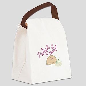 Proud Pierogi Canvas Lunch Bag