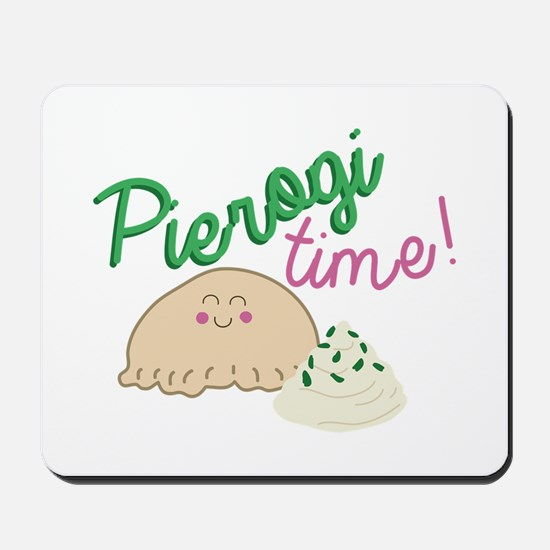 Pierogi Time Mousepad