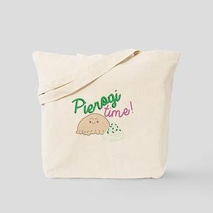Pierogi Time Tote Bag