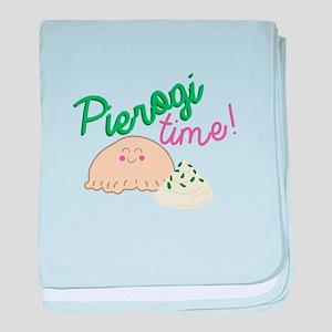 Pierogi Time baby blanket
