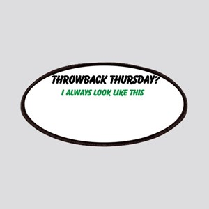 Throwback Thursday Patch