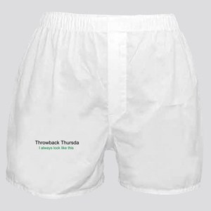 Throwback Thursday Boxer Shorts