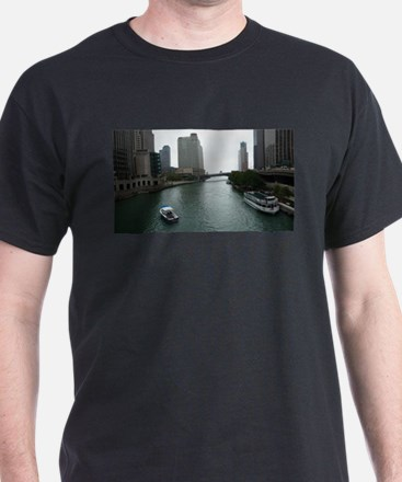 Chicago River in Downtown Chicago T-Shirt