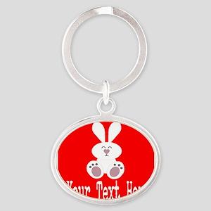 Personalizable Rabbit Keychains